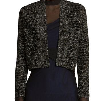 Calvin Klein Cropped Evening Cardigan