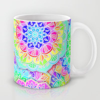 Psychedelic Summer Mug by Micklyn