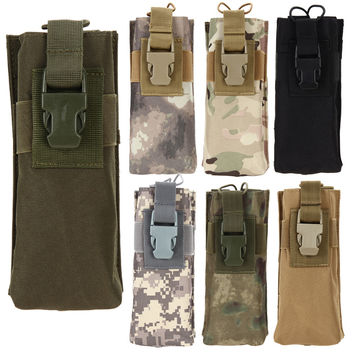 Sports Bottles Bag Outdoor Tactical Army Molle Combined Open Water Bottle Pouch Bags For Hiking Climbing Running