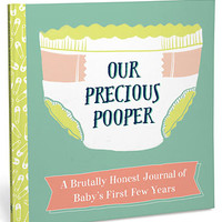 Our Precious Pooper: A Baby Journal - PLASTICLAND