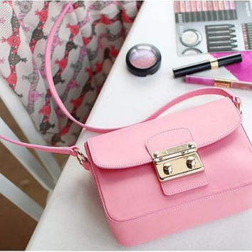 Free Shipping Madras Mini Bag Pink Color New Arrival by matchesk