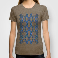 Smoke Art Square T-shirt by Karl Wilson Photography