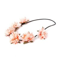 Coral Flower Garland Headwrap | Claire's