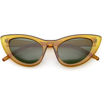 2830dda104 Women s Retro 1950 s Oversize Cat Eye Sunglasses C750