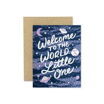 Wild Hart Paper - Welcome Little One Card