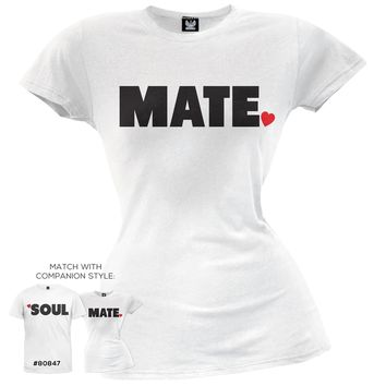Soul Mate Juniors T-Shirt
