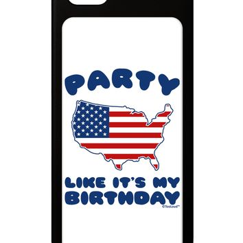 Party Like It's My Birthday - 4th of July iPhone 5 / 5S Grip Case by TooLoud