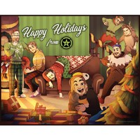 "Achievement Hunter 2016 Limited Edition Holiday Print (14"" x 11"")"