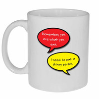 Funny Diet-Coffee or Tea Mug