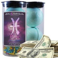 Pisces | Zodiac Cash Bath Bombs