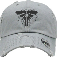 last of us Distressed Baseball Hat