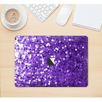 """The Purple Shaded Sequence Skin Kit for the 12"""" Apple MacBook"""