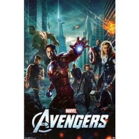 Avengers One Sheet Poster, 22 x 36-inches