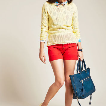 Sweetest Subtleties Long Sleeve Top in Sunshine | Mod Retro Vintage Sweaters | ModCloth.com