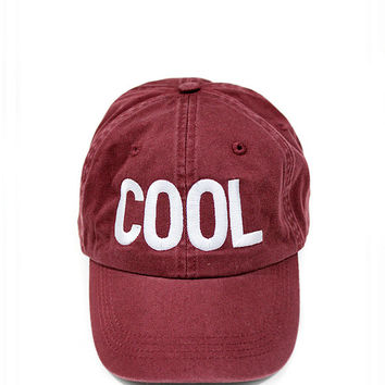 Cool Dad Hat - Wine