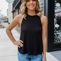 Make My Weekend Top - Black