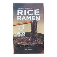 Lotus Foods Ramen - Organic - Forbidden Rice - with Miso Soup - 2.8 oz - Pack of 10