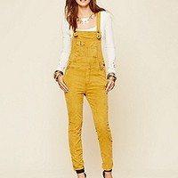 Free People  Washed Cord Overall at Free People Clothing Boutique