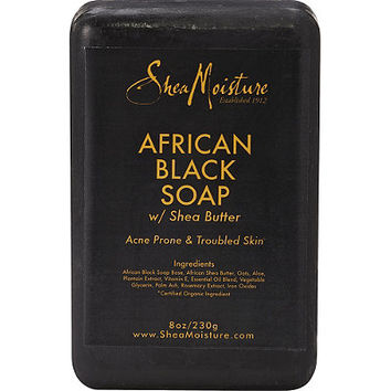 SheaMoisture African Black Soap Bar Soap | Ulta Beauty