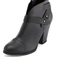Wrapped Ankle Strap Bootie