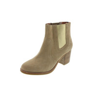 Sperry Womens Marlow Faux Suede Heels Ankle Boots