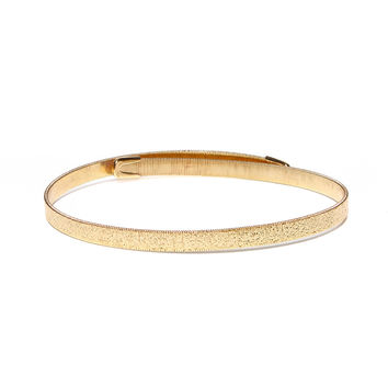 Diamond Dust Choker - Gold