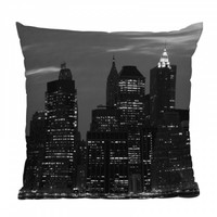 Leonidas Oxby New York Financial District Throw Pillow