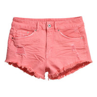 H&M Twill Shorts High waist $19.95