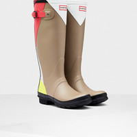 Hunter UK | Women's Original Tall Dazzle Wellington Boots | Official Site