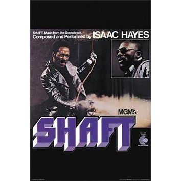 SHAFT MOVIE POSTER - ISAAC HAYES - RARE NEW HOT 24X36