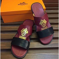 shosouvenir:Hermes Fashion slippers