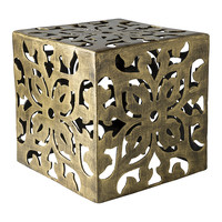 Gold Stewart Accent Table