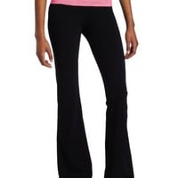 SOLOW Women`s Fold Over Pant With Stripe Band $73.00