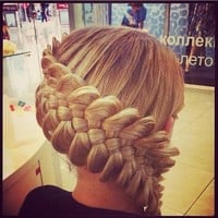 Beautiful Plaited Updo - Hairstyles and Beauty Tips