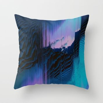 Lavender Oil Throw Pillow by Ducky B