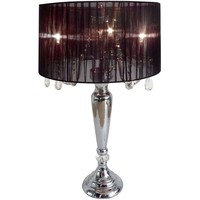 Elegant Designs Hanging Crystals Sheer Shade Table Lamp | Overstock.com Shopping - The Best Deals on Table Lamps