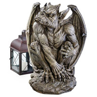 Park Avenue Collection Large Silas The Gargoyle Sentry Statue