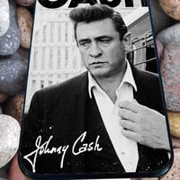 Johnny Cash for iPhone 4/4s, iPhone 5/5S/5C/6, Samsung S3/S4/S5 Unique Case *99*