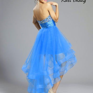 Kari Chang YA1426 Hi - Low Homecoming Prom Dress