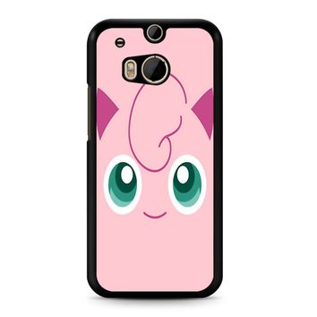 Jigglypuff Face Pokemon HTC M8 Case