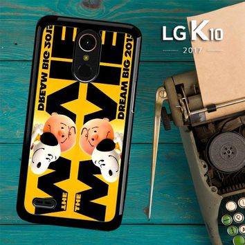 Snoopy And Charlie Brown The Peanuts 2015 Movie V 2104 LG K10 2017 / LG K20 Plus / LG Harmony Case