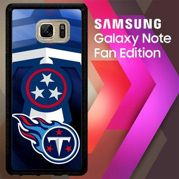 Tennessee Titans Z3007 Samsung Galaxy Note FE Fan Edition Case