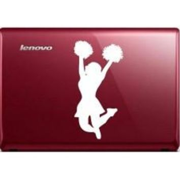 CHEERLEADER Automobile Decal Car Window Decal Tablet PC Computer Automobile Window Wall Laptop Notebook Ipad cell phone