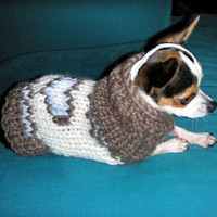 Home Heart Pets Chihuahua clothing Sweater Dog Pet Fashion Gift Handmade Coat Knitted Crochet Pets Puppy Organic Wool