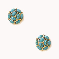 Faux Stone Dome Studs