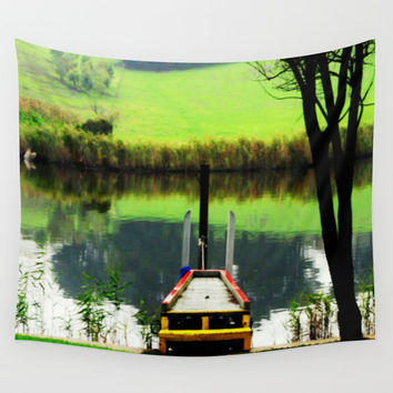 Reflections Wall Tapestry by Chris' Landscape Images & Designs