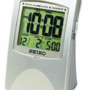 Seiko Bedside Travel Alarm Clock with  Snooze