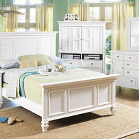 Belmar Queen White 5Pc Panel Bedroom
