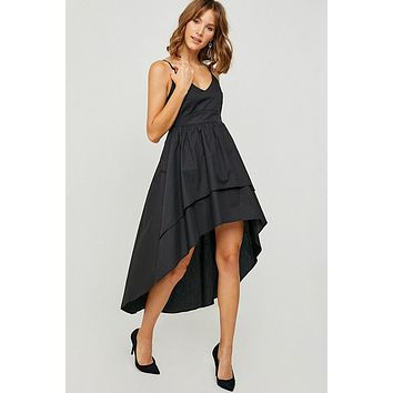High-Low Midi Cocktail Dress