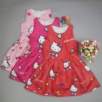 Baby Girls Clothes Hello Kitty Dress for Girls Christmas Dress Princess Party Clothes Children Hello Kitty Clothing Kids Costume